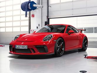 Der Race-Check im Porsche Zentrum Hamburg.