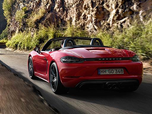 Unser exklusives Leasingangebot für Sie: Der Porsche 718 Boxster GTS.