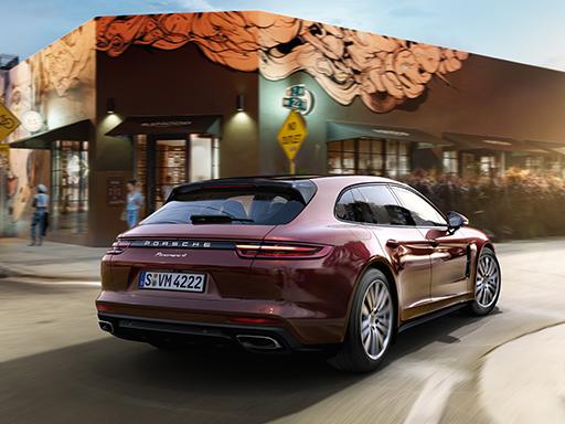 Unser exklusives Leasingangebot für Sie: Der Porsche Panamera 4 Sport Turismo.