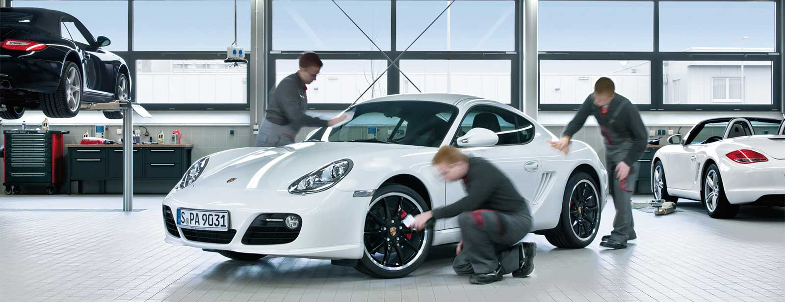 Porsche Service | Winter-Pflegeaktion